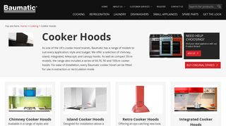 Baumatic Cooker Hoods