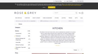 Rose & Grey Kitchen