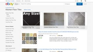 eBay Kitchen Floor Tiles