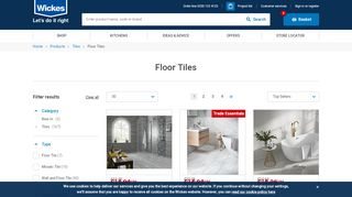 Wickes Kitchen Floor Tiles
