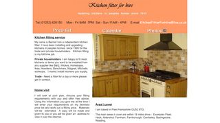 Kitchen Fitter for Hire