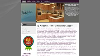 Cheap Kitchens Glasgow